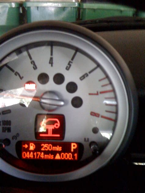 what does it mean when your engine light flashes mini clubman warning lights iron blog