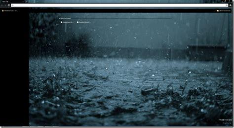 chrome themes rain rain drops theme png wml cloud