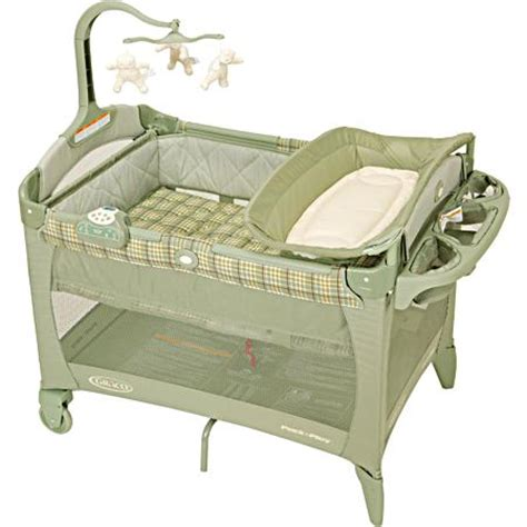 Graco Pack And Play With Bassinet And Changing Table Graco Pack N Play Playard With Bassinet And Changer Bancroft 2007 Baby