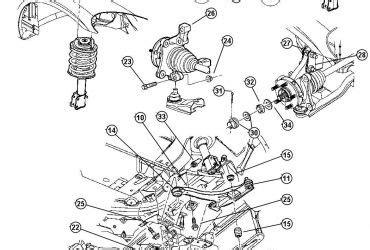 pt cruiser rear suspension diagram 2002 pt cruiser rear suspension diagram wedocable