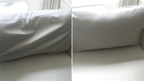 sinking couch cushions fix frumpy sofa cushions with this 3 step trick today com