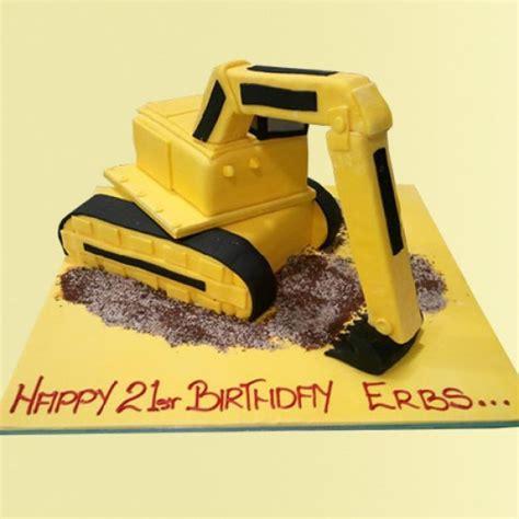 Digger Custom Cake