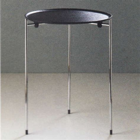 Metall Lackieren Rolle by Beistelltisch Glas Holz Design Rollen Rund Massivholz