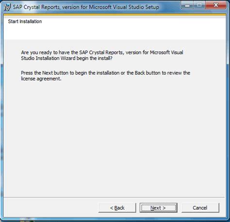Installer Reports how to install reports for visual studio tektutorialshub