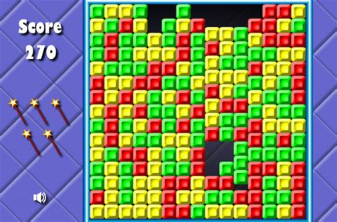 bricks breaking fun  bejeweled style puzzle game
