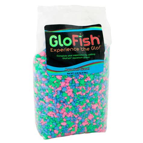Glofish 29084 Aquarium Gravel Black Glofish Aquarium Gravel Fluorescent Mix 5 Lb