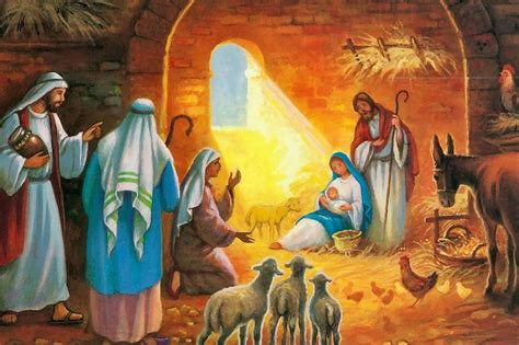 historia con imagenes del nacimiento de jesus el d 237 a de navidad o natividad del se 241 or
