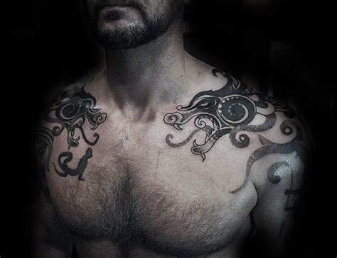 dragon shoulder tattoos for men 40 shoulder designs for manly ink ideas