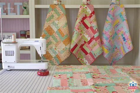 How Many Jelly Rolls To Make A Baby Quilt by Quarter Shop S Jolly Jabber How To Make The Jelly