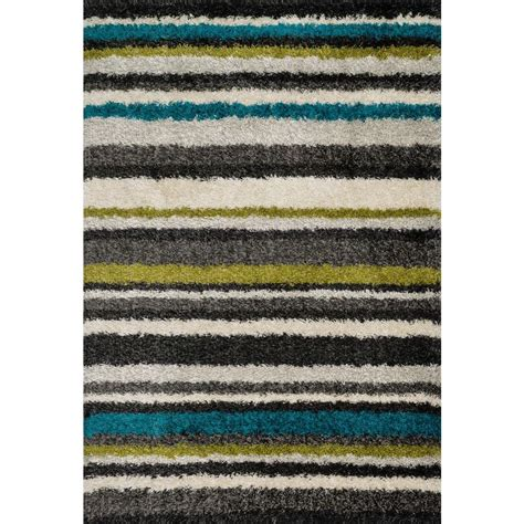 Lifestyle Rugs by Loloi Rugs Cosma Lifestyle Collection Green Multi 3 Ft 9 In X 5 Ft 6 In Area Rug
