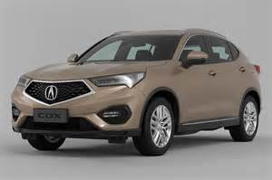 Acura Cdx Acura Cdx Debuts In China With Precision Like Styling
