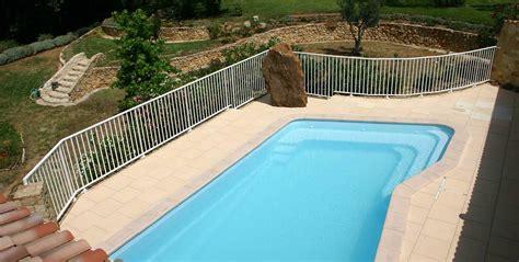 re de patio en aluminium barri 232 re de piscine aluminium macassar garde corps