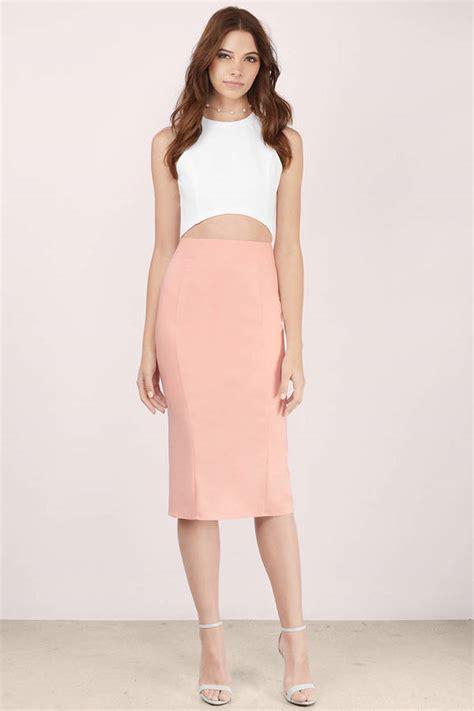 ivory skirt white skirt high waisted skirt 14 00