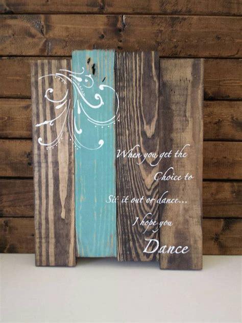 Inspirational Wood Wall