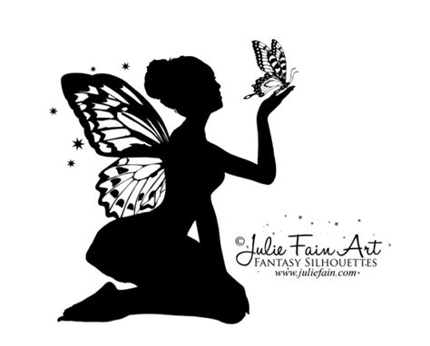 fairy silhouette tattoo designs on fairies designs