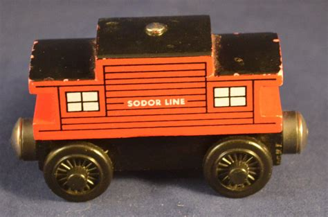 Brio Caboose vintage wooden brio the tank engine and friends