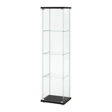 Impressionnant Meuble Cube Ikea #3: Detolf-glass-door-cabinet-brown__0625601_PE692387_S4.JPG