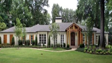country ranch homes french country plans french country ranch style homes