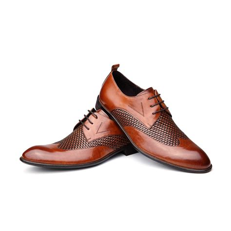 otto italy oxford leather shoes
