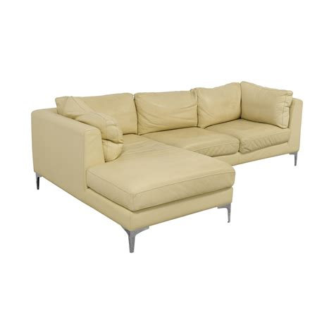 design within reach sectional 41 off design within reach design within reach cream