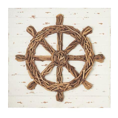 ship s wheel driftwood wall decor d 233 cor shop