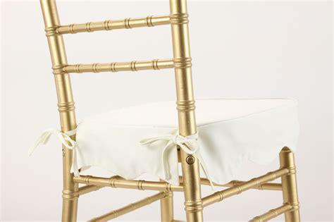 white chiavari cushion with velcro chiavari cushions ballroom chair pads vision furniture