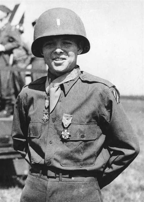 Medal Most Decorated Soldier by Audie Murphy A Member Of 3rd Infantry Division Was The