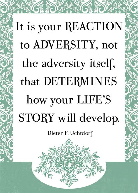adversity quotes your reaction to adversity favething