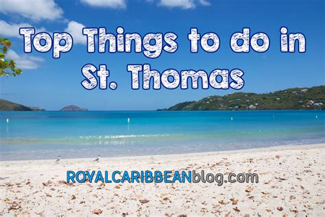 St To things to do in st on your royal caribbean cruise