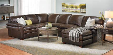 leather sectional sofa winfield leather sectional sofa haynes furniture