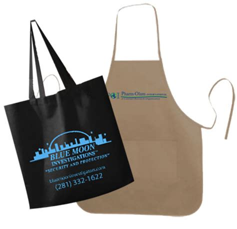 Small Giveaway Ideas - houston promotional products tradeshow item giveaways ideas aprons bags