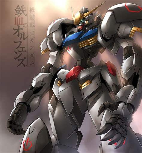 wallpaper gundam barbatos gundam barbatos by haganef on deviantart