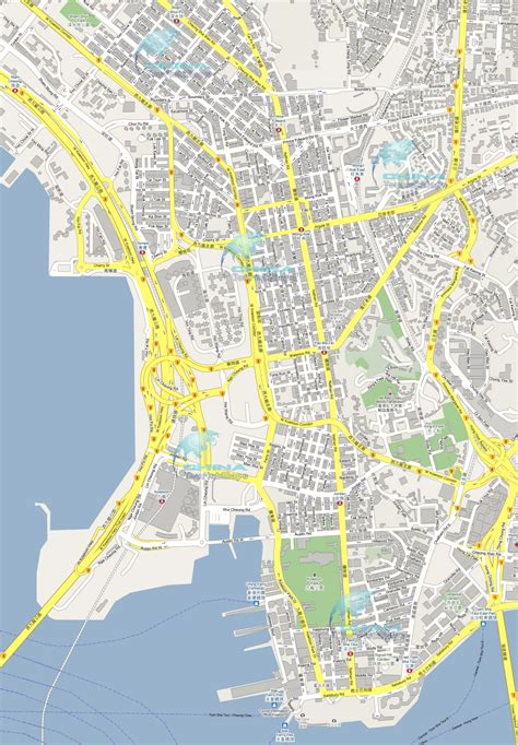 map of kowloon where purchase michelin road maps kowloon streets roads