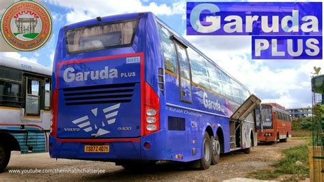 tsrtc  garuda plusvolvo  brtelangana india youtube