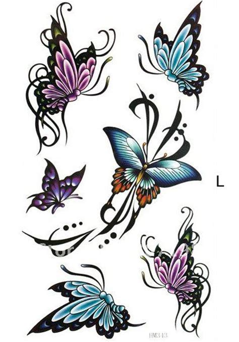 tattoo nightmares butterfly and flowers butterfly and flower tattoos buy butterfly flower rose