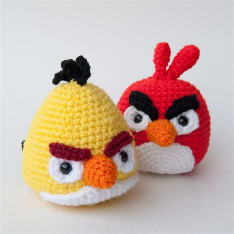 free pattern amigurumi angry birds angry birds crochet pattern yellow bird pdf