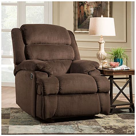 Stratolounger Furniture by Stratolounger 174 Samson Chocolate Big One Recliner Big Lots