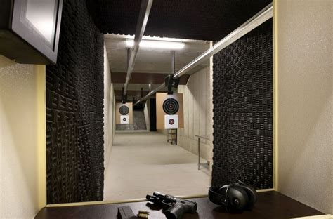 indoor home shooting range gun range ideas