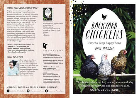 backyard chickens dave ingham february 2017 by murdoch
