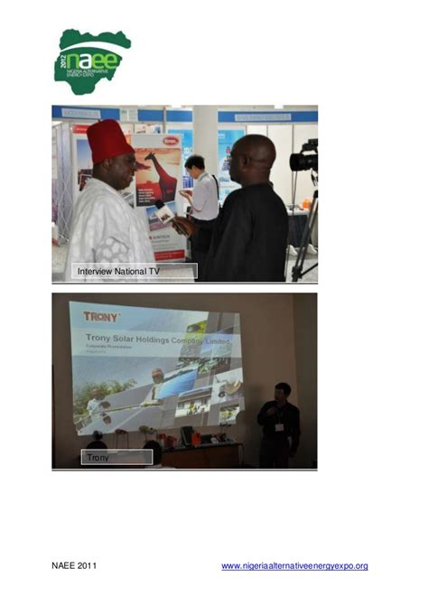 eurotic tv 2011 alternative energy report of the first nigeria alternative energy expo