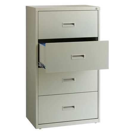 30 lateral file cabinet hirsh lateral file cabinet 30 in w steel 19440 zoro