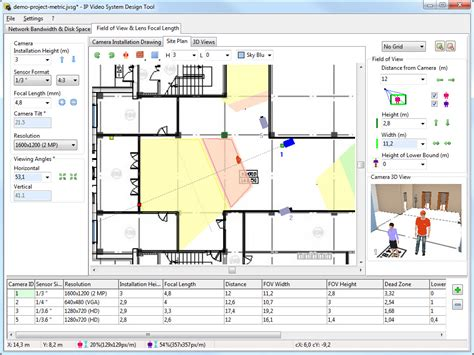 warehouse floor plan software jvsg cctv design software house plan floor camera coverage