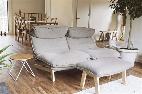 when was the first couch invented muji s reclining sofa is the most comfortable piece of
