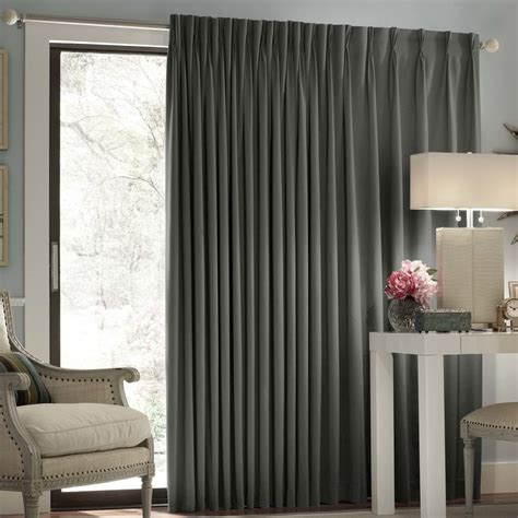 door blackout curtains 1000 ideas about sliding door curtains on pinterest