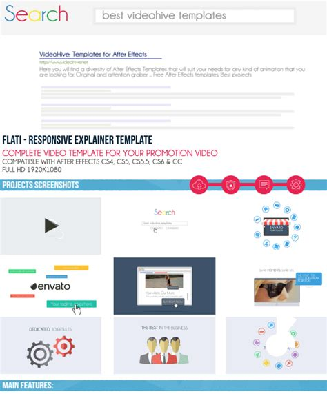 Flati Responsive Explainer Template By Jbmotion Videohive Explainer Template