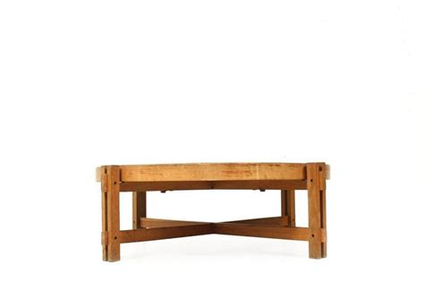 Low Oak Coffee Table Beautiful Roger Capron Low Coffee Table Oak 1950s Tiles Vallauris For Sale At 1stdibs