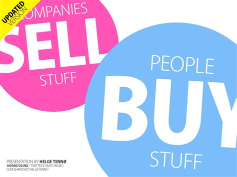 buy stuff companies sell stuff buy stuff
