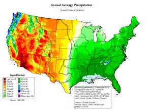precipitation map united states maps of the united states that contrasts east from west