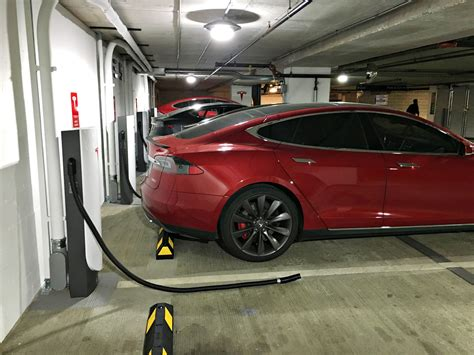 tesla charging tesla s urban supercharger can be wall mounted and