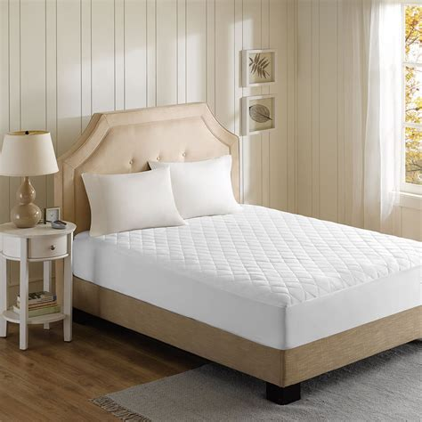 best mattress pad the best heated mattress pad hammacher schlemmer